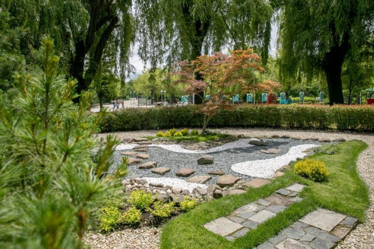 Takeda company in Bulgaria supported the renovation of the Japanese garden in Sofia Zoo Park