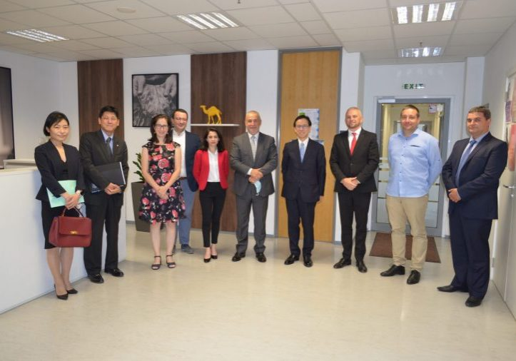 Official registration of the Japan-Bulgaria Business Association (JBBA) on November 23, 2020 – the executives of the founder companies in Bulgaria